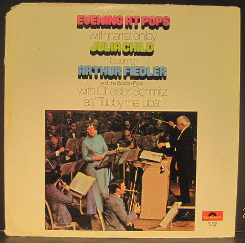 "Arthur Fiedler & Boston Pops with Julia Child ""Evening at The Pops"""
