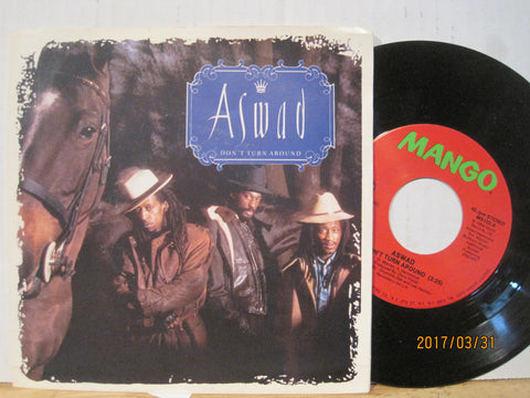 Aswad - Don't Turn Around b/w Woman