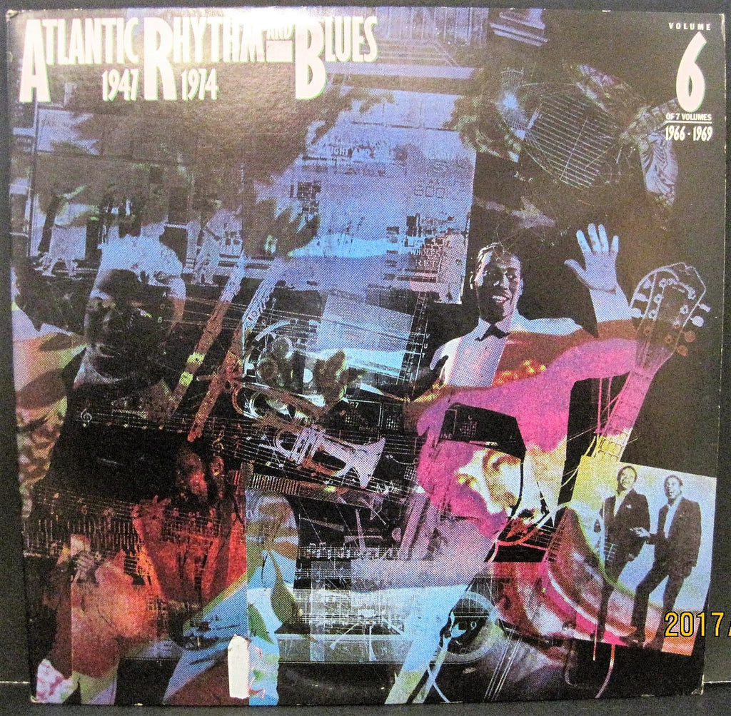 Various - Atlantic Rhythm and Blues Volume Six 1966 to 1969