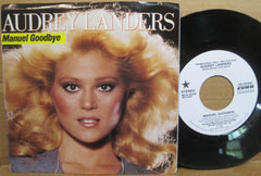 Audrey Landers - Manuel Goodbye (Both Sides)  PS