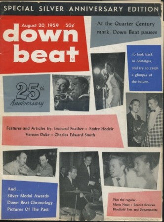 Down Beat - August 20, 1959 - 25th Anniversary Issue