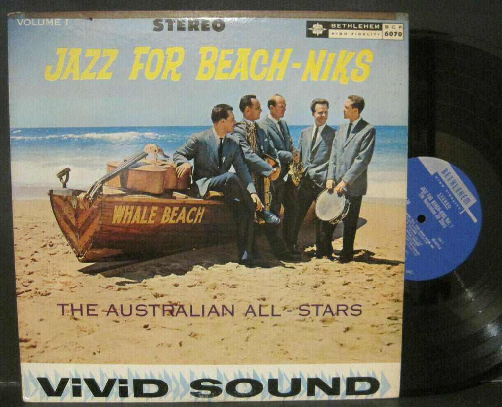 Australian All-Stars - Jazz For Beach-Niks