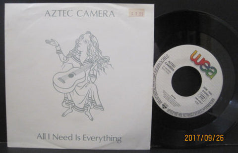 Aztec Camera - All I Need Is Everything b/w Jump