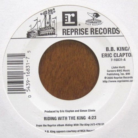 B.B. King and Eric Clapton - Riding with The King b/w Key To The Highway
