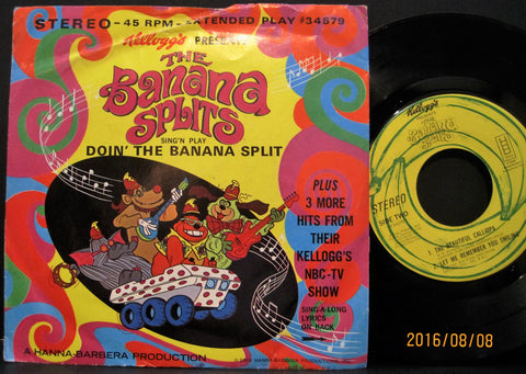 Banana Splits - Doin' The Banana Split  PS
