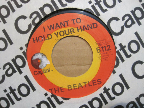 Beatles - I Want To Hold Your Hand b/w I Saw Her Standing There