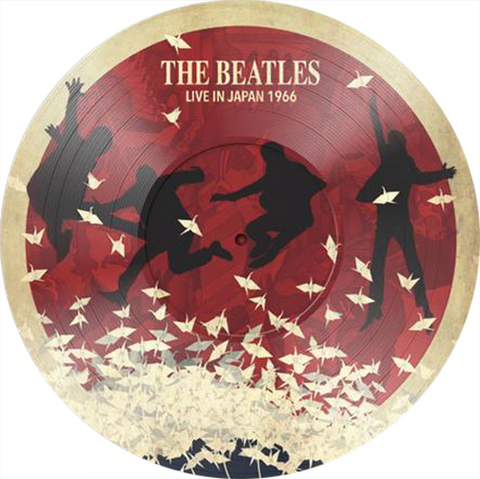Beatles - Live in Japan 1966 limited import PICTURE DISC