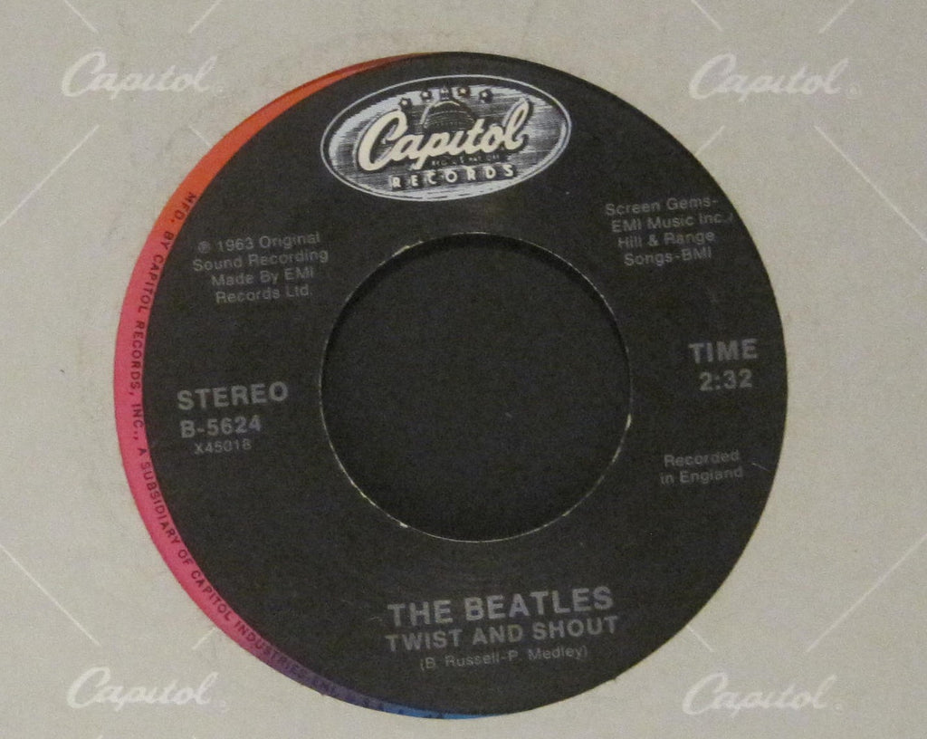 Beatles - Twist and Shout b/w There's A Place