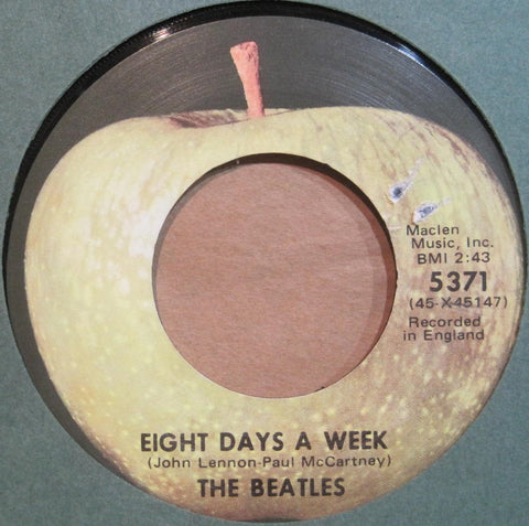 Beatles - Eight Days a Week b/w I Don't Want To Spoil The Party (Apple)
