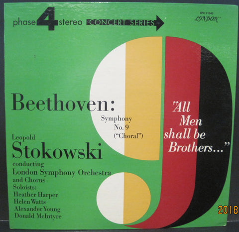 Beethoven 9th Symphony w/ Leopold Stokowski & The LSO