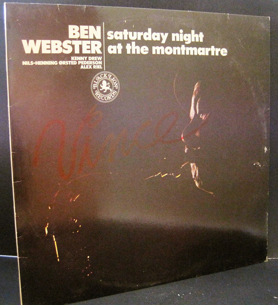 Ben Webster - Saturday Night at The Montmartre
