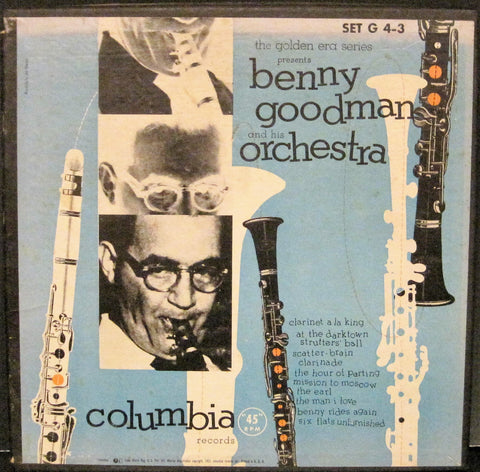 Benny Goodman - Columbia FIVE 45rpm Box Set G4-3