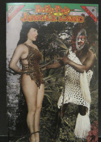 Betty Page in Jungle Land - Comic Book