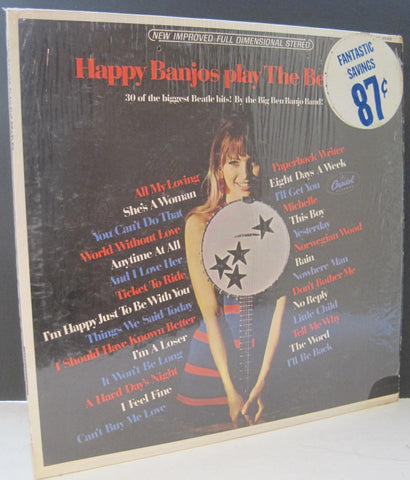Big Ben Banjo Band - Happy Banjos Play The Beatles