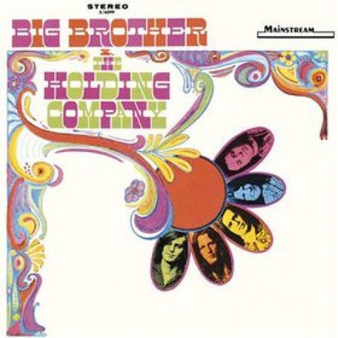 Big Brother and the Holding Company - self titled debut featuring Janis Joplin