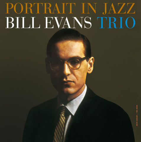 Bill Evans - Portrait in Jazz - import 180g LP w/ exclusive gatefold jacket