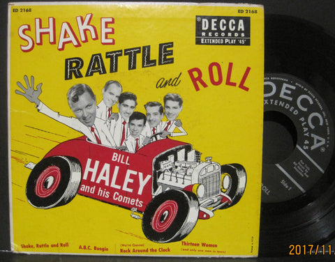 Bill Haley and His Comets - Shake Rattle and Roll Ep