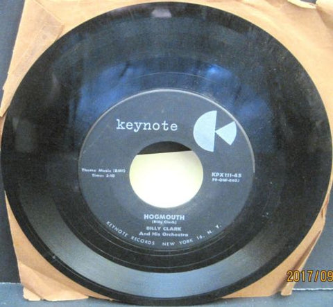 Billy Clark and His Orchestra - Hogmouth b/w BC's Bounce