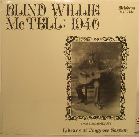 Blind Willie McTell - 1940