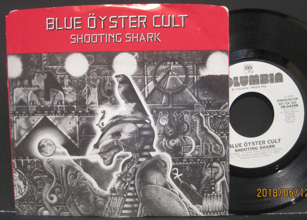Blue Oyster Cult - Shooting Shark b/w Shooting Shark PROMO w/ PS