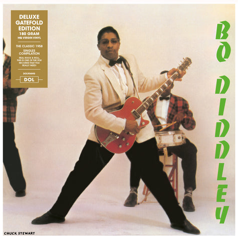 Bo Diddley - s/t singles compilation LP import w/ gatefold