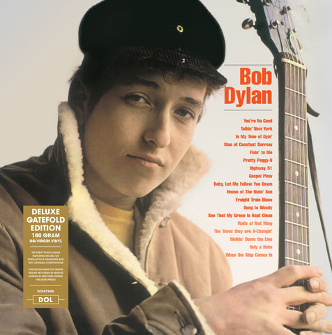 Bob Dylan - Bob Dylan - debut album on 180g import vinyl w/ gatefold & Bonus