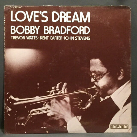 Bobby Bradford - Love's Dream - SEALED!! w/ John Stevens, Carter,