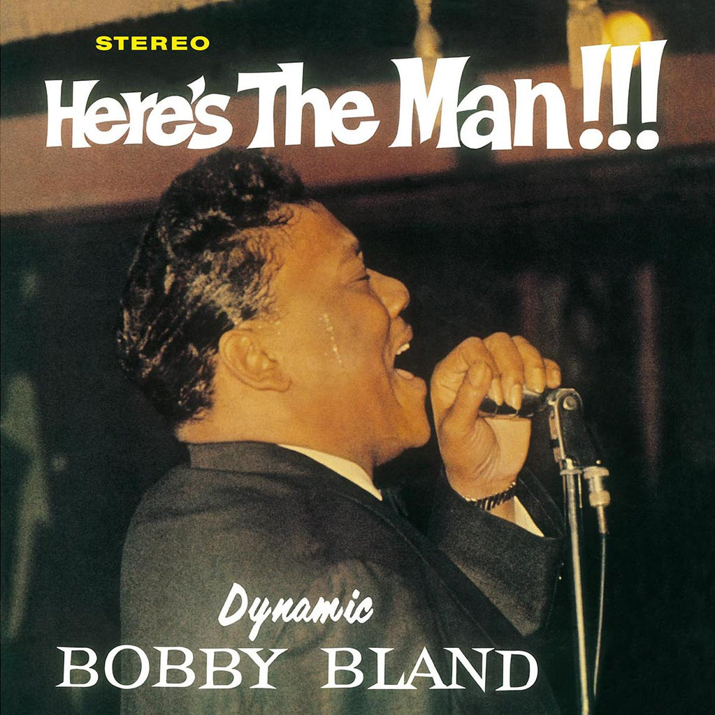 Bobby Bland - Here's the Man!!! 180g import
