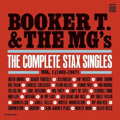 Booker T & The MG's - Complete Stax Singles Vol 1 (1962-67) Ltd 2 LP set on blue vinyl