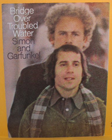 Bridge Over Troubled Water -1970 Sheet Music Simon & Garfunkel