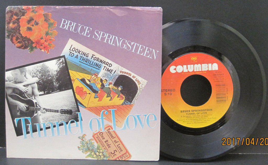 Bruce Springsteen - Tunnel of Love b/w Two For The Road  PS