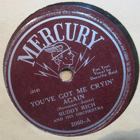 Buddy Rich - You've Got Me Cryin' Again b/w Desperate Desmond
