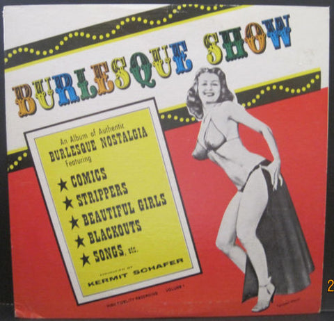 Burlesque Show - Kermit Schafer (Tempest Storm on Cover!)