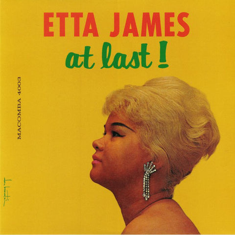 Etta James - At Last! import LP w/ 4 bonus tracks