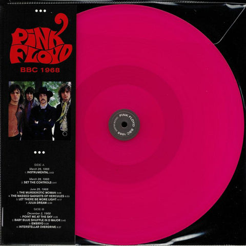 Pink Floyd - BBC 1968 on limited Pink vinyl