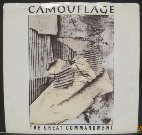 Camouflage - The Great Commandment b/w Pompeji