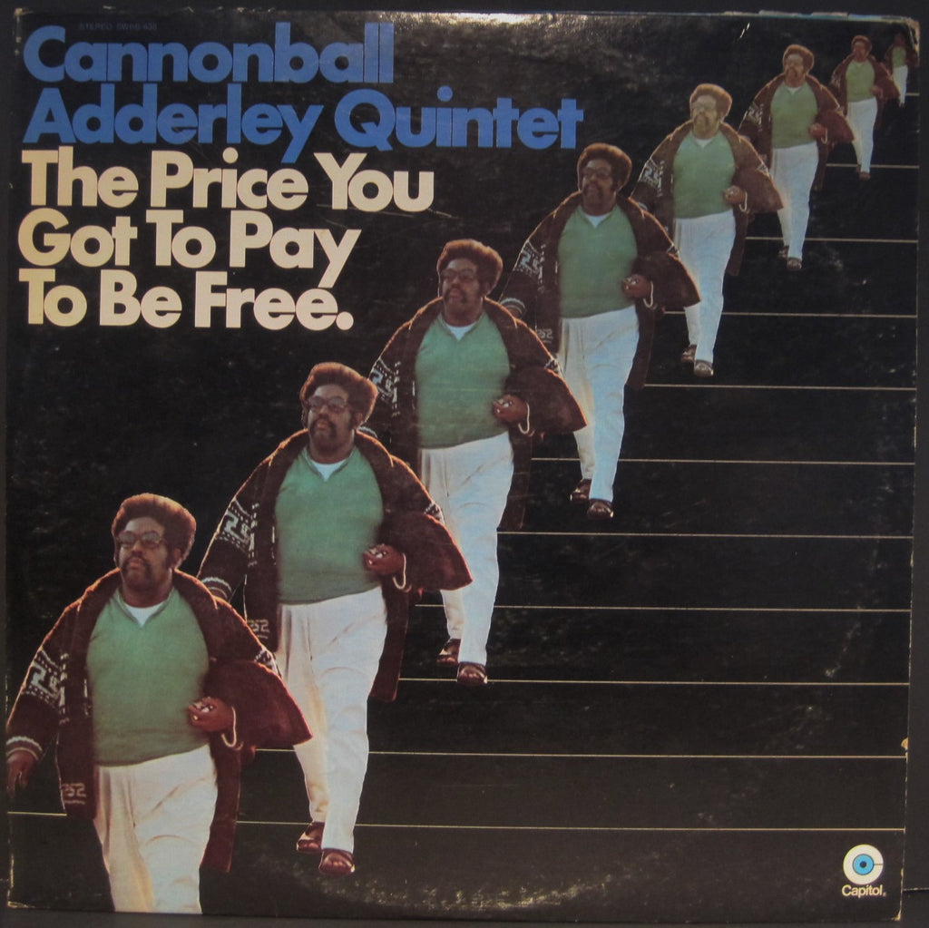 "Cannonball Adderley ""The Price You Got To Pay To Be Free"" 2 Lp Set"