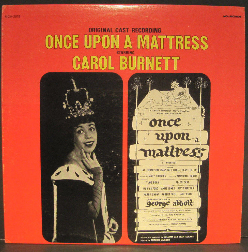 "Carol Burnett ""Once Upon a Mattress"" Original Cast"