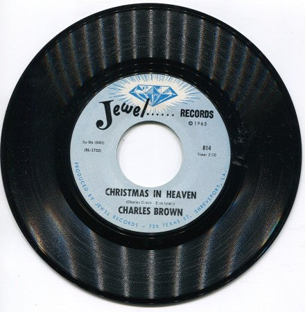 Charles Brown - Just A Blessing / Christmas In Heaven