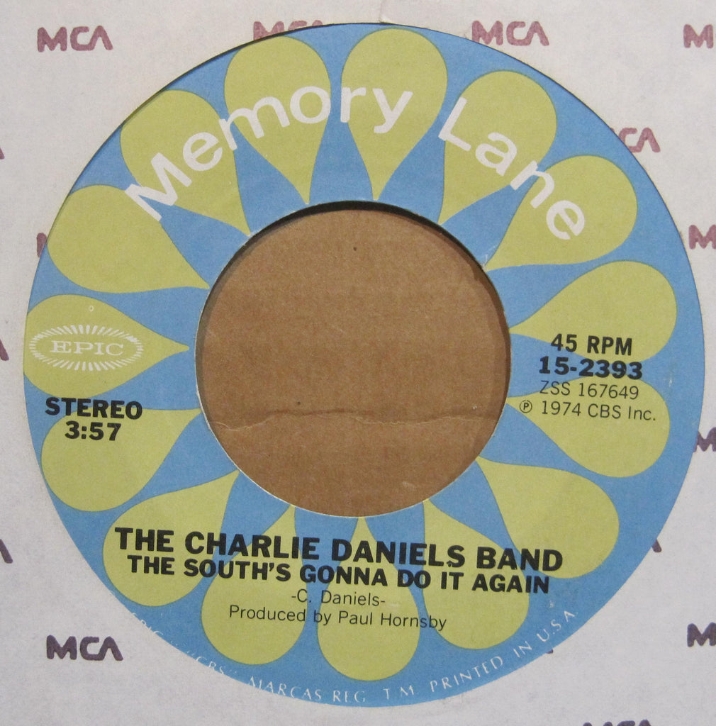 Charlie Daniels Band - The South's Gonna Do It Again b/w Long Haired Country Boy