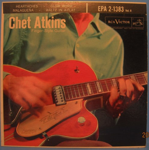 Chet Atkins - Finger-Style Guitar Vol. II Ep
