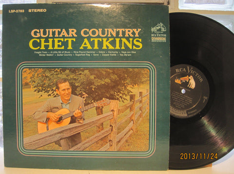 "Chet Atkins ""Guitar Country"""