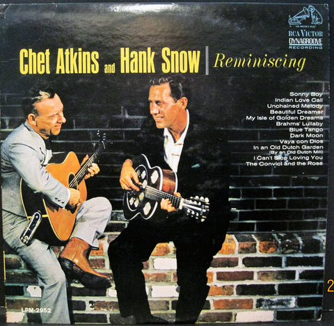 Chet Atkins & Hank Snow - Reminiscing