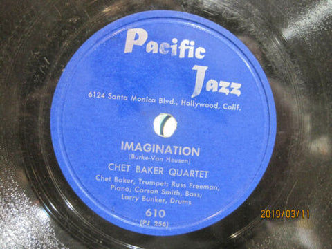 Chet Baker Quartet - Imagination b/w Russ Job