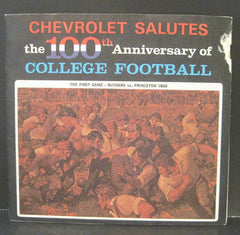 Chevrolet Salutes The 100th Anniversary of College Football