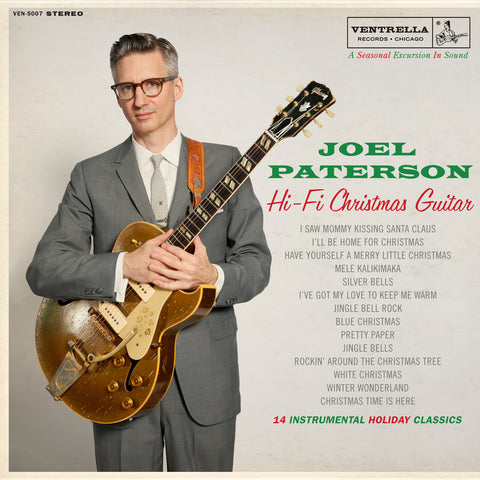 Joel Paterson Hi-Fi Christmas Guitar LP w/ MP3