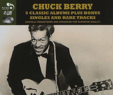 Chuck Berry - 5 Albums plus bonus tracks on 4 CDs!