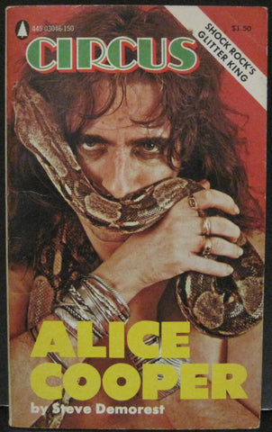 Circus Magazine Presents Alice Cooper - Steve Demorest