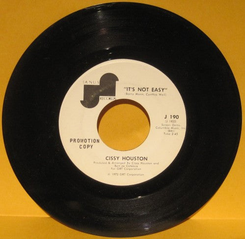 Cissy Houston - It's Not Easy/ Didn't We