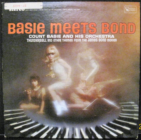 Count Basie & His Orchestra - Basie Meets Bond